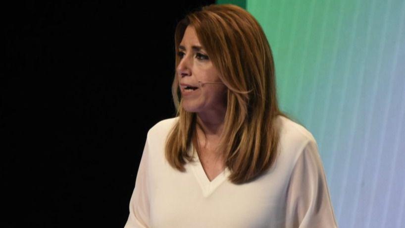 Susana Díaz reclama el voto de la gente de izquierdas para contener a la derecha en las andaluzas y en las generales