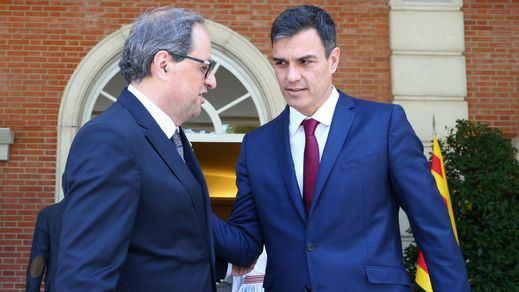 El Gobierno anuncia una cita Sánchez-Torra en Barcelona y el Govern la desmiente