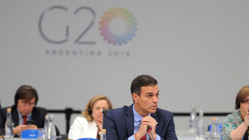 Un Sánchez preocupado por las desigualdades, el cambio climático y la migración apela a las conciencias en el G-20