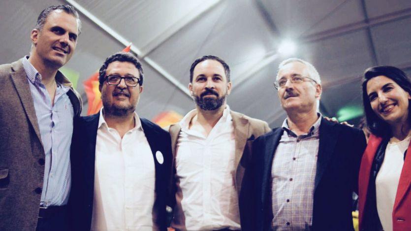 Euforia en VOX: 'Vamos a propiciar la reconquista; hemos llegado para quedarnos'
