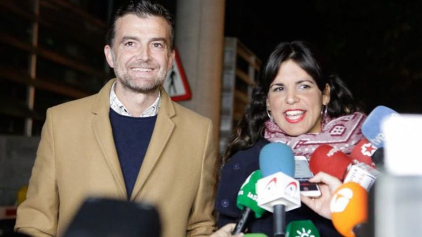 Teresa Rodríguez y Pablo Iglesias se conjuran contra VOX: 'Haremos frente a la extrema derecha'
