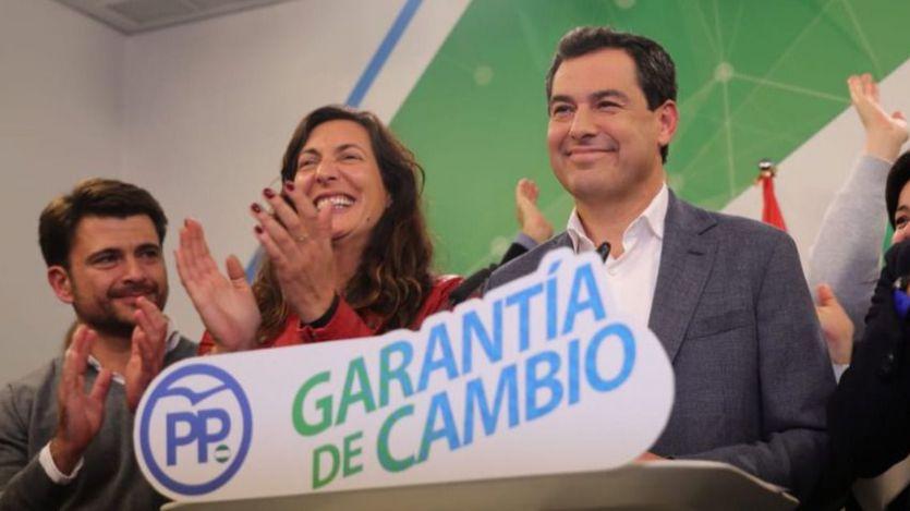Juanma Moreno se postula como presidente sin mencionar el apoyo necesario de VOX