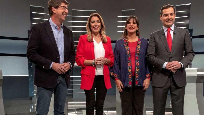 Todas las sumas posibles para poder gobernar en Andalucía