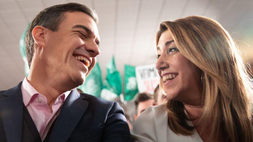 Sánchez quiere acabar con Susana Díaz y ella busca el salvavidas de su antiguo socio, Ciudadanos