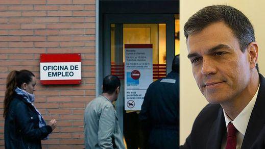 El paro bajó en noviembre con el Gobierno Sánchez pese a ser un mes en el que tradicionalmente aumenta