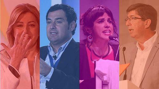Todos los escenarios posibles en Andalucía, donde ya pulula el fantasma de la repetición de elecciones