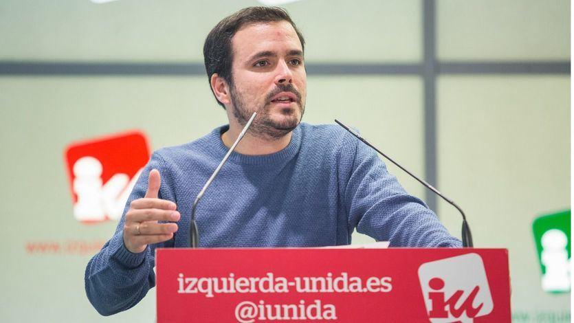 Izquierda Unida presenta una querella criminal contra el rey Juan Carlos