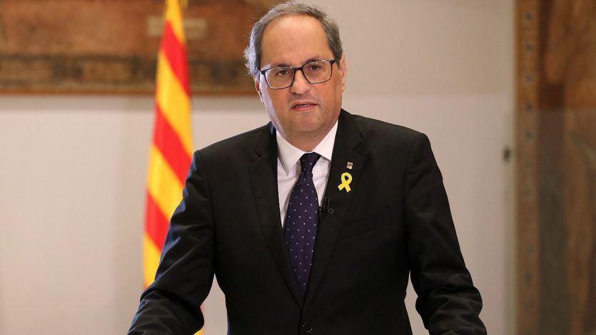 Torra: 'La Constitución se ha convertido en una prisión para muchos catalanes'