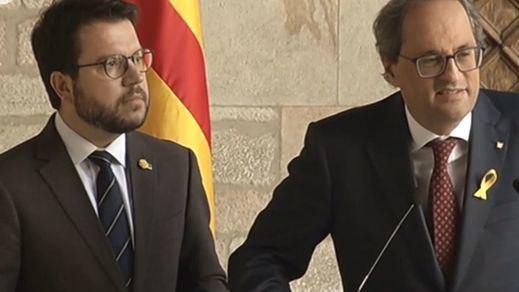 La gestión de los Mossos abre una nueva brecha en el Govern catalán y Torra hará cambios