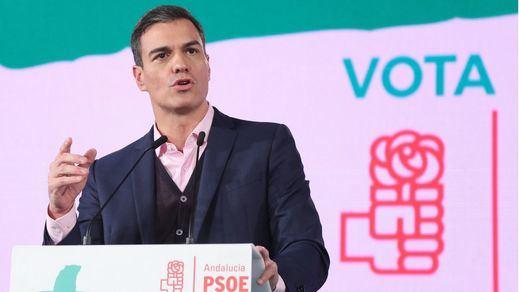 Sánchez, a PP y Cs: