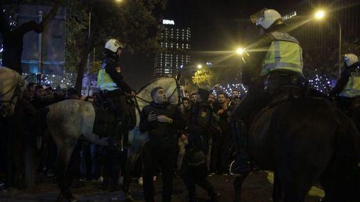 Jornada sin incidentes en un Madrid blindado por la final de la Copa Libertadores