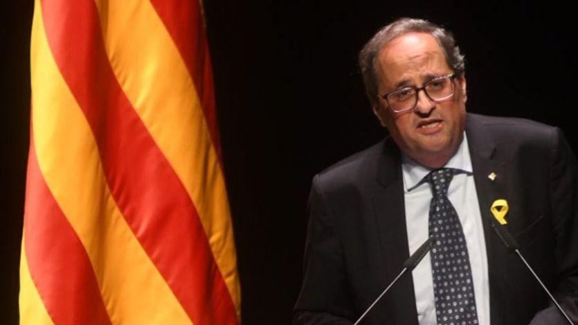 Continúa el mar de críticas a Torra por la comparación de Cataluña con la sangrienta independencia de Eslovenia