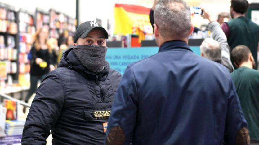 Así atacaron ultraderechistas y neonazis a Pablo Iglesias en Barcelona