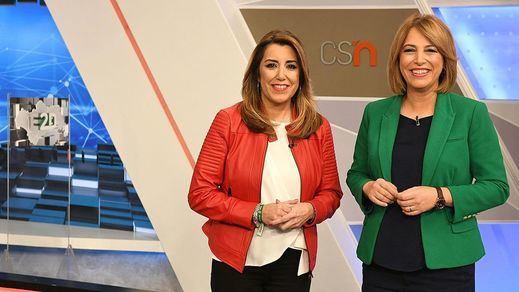 El PP andaluz se compromete a no cerrar 'Canal Sur', como quiere Vox y sugiere Ciudadanos