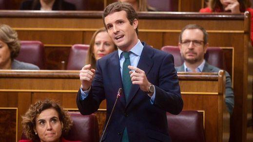 Debate sobre Cataluña: Sánchez endurece el tono y la oposición le pide aplicar el 155