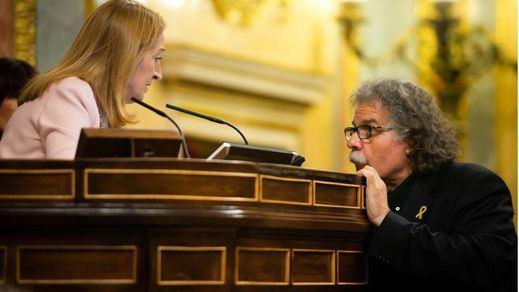Ana Pastor vuelve a borrar del diario de sesiones los insultos de 'golpista' y 'fascista' cruzados en el Congreso