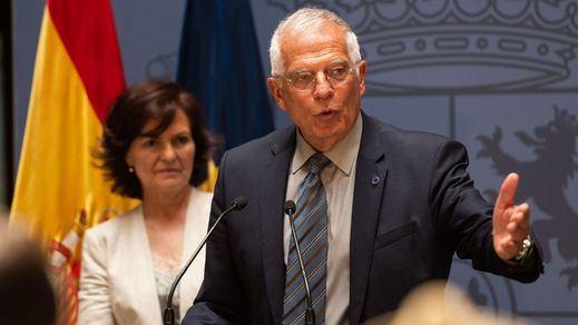 Borrell reconoce el fracaso del Gobierno a la hora de calmar la situación en Cataluña