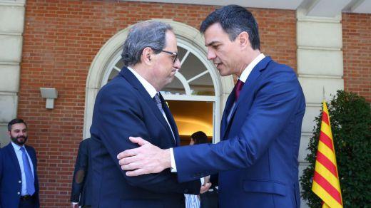Moncloa pide formalmente al Govern catalán una reunión entre Sánchez y Torra el día 21