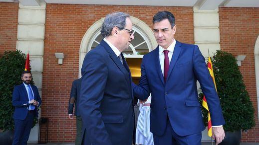 El Govern y Moncloa negocian ya los detalles para cerrar la cita Sánchez-Torra