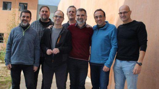 Los presos independentistas en huelga de hambre escriben cartas a 40 líderes europeos