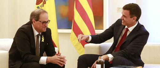 Habrá cumbre Sánchez-Torra, pero Moncloa y Generalitat 'venden' la cita de forma desigual