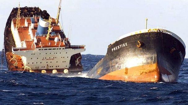 Los responsables de la catástrofe del Prestige deberán pagar indemnizaciones de 1.500 millones
