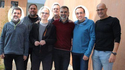Los 4 presos independentistas en huelga de hambre cesan su protesta tras las peticiones