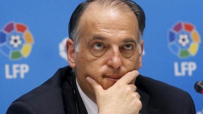 El presidente de la Liga de fútbol, Javier Tebas, imputado por alzamiento de bienes