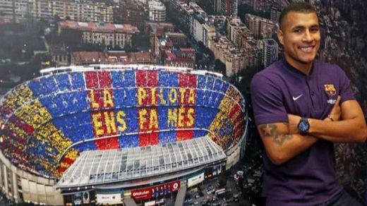El Barça consigue cedido a Murillo, defensa central colombiano procedente del Valencia