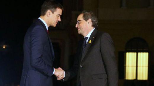 Las claves para interpretar correctamente la criticadísima reunión Sánchez-Torra