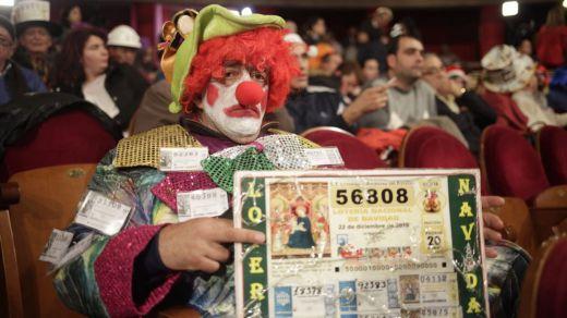 Las mejores imágenes del sorteo de la Lotería de Navidad