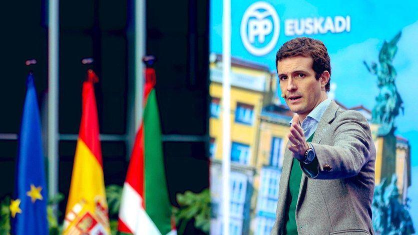 Casado acusa a Sánchez de 'hacer del Estado un títere de los independentistas'