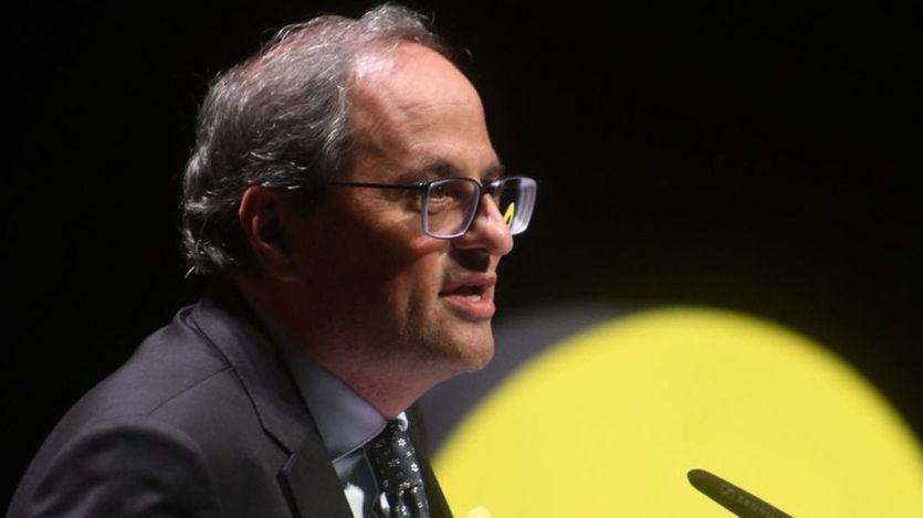 Torra, contra el Rey: 'En Cataluña no hay un problema de convivencia, sino de democracia y de justicia'