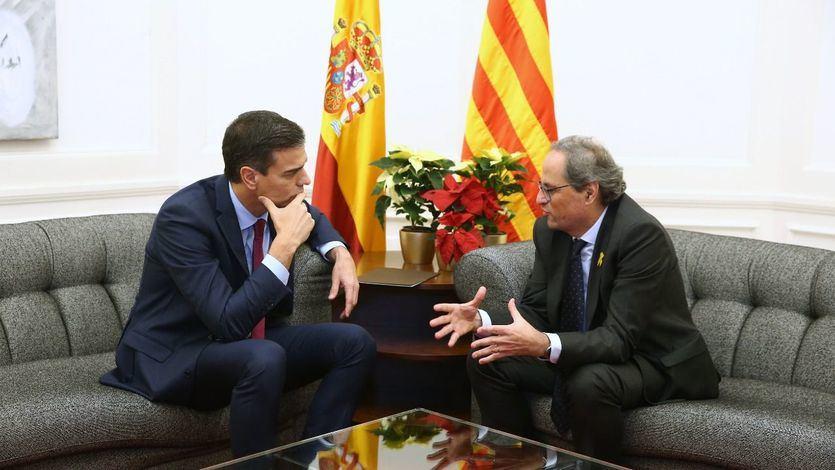 Torra exige reconocer el derecho de autodeterminación de Cataluña para aprobar sus Presupuestos