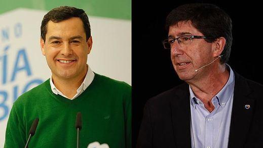 PP y Ciudadanos cierran el pacto para gobernar Andalucía dejando a Vox en un papel de mero acompañante