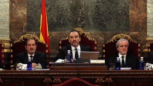 El Supremo confirma su competencia para llevar el juicio contra los presos independentistas del 'procés'