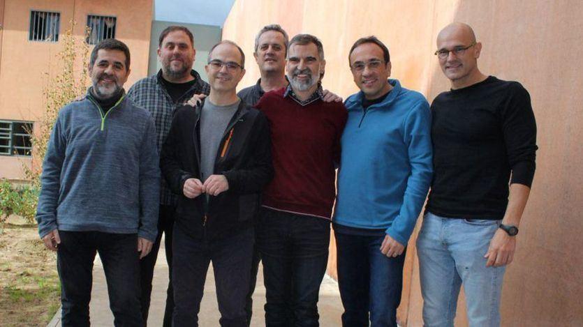 El Supremo deniega los permisos para salir de prisión por navidades a Jordi Sánchez, Turull, Rull, Forcadell y Forn