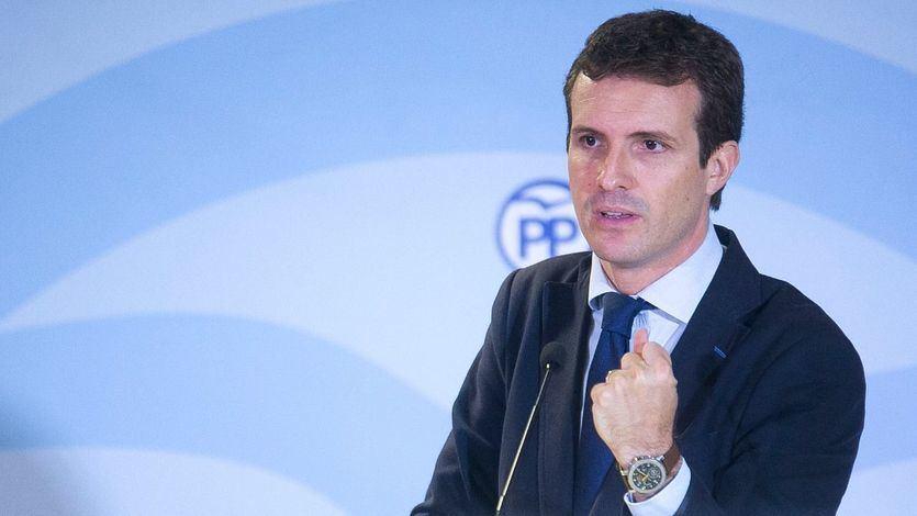 Casado califica de 'catastrófico' el balance de los 200 días de Sánchez en la Moncloa