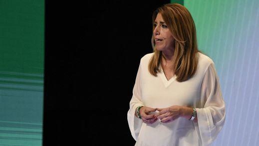 Susana Díaz alerta del riesgo de regresión histórica que supone Vox, mientras el resto prepara su sucesión