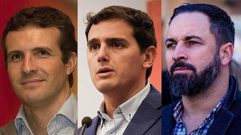 Casado y Rivera se plantan ante las exigencias de Vox contra las medidas sobre violencia de género