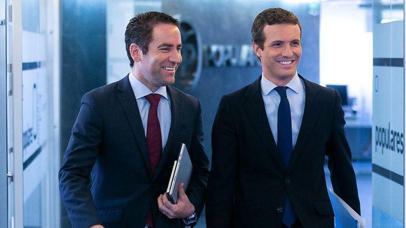El PP se revuelve y pide al Gobierno 'que lleve también a la Fiscalía el vídeo de Rajoy guillotinado'