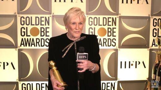 El aplaudido discurso de Glenn Close en los Globos de Oro