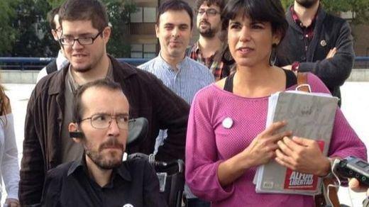 Vox se querella también contra Pablo Echenique y Teresa Rodríguez de Podemos