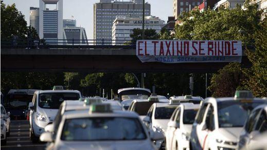 Los taxistas de Madrid votarán si hacer o no un paro indefinido contra los VTC