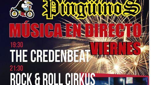 The Credenbeat pone la mejor banda sonora rockera a la concentración mundial de moteros