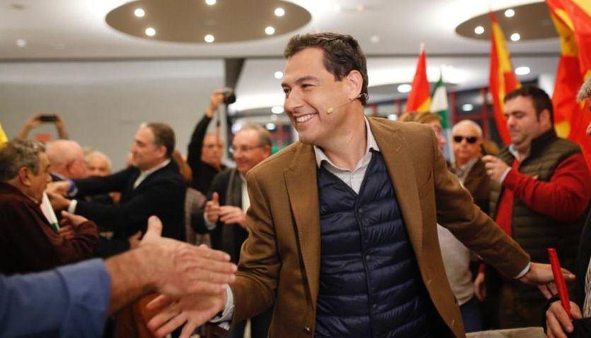 Juanma Moreno será investido presidente de Andalucía el 16 de enero
