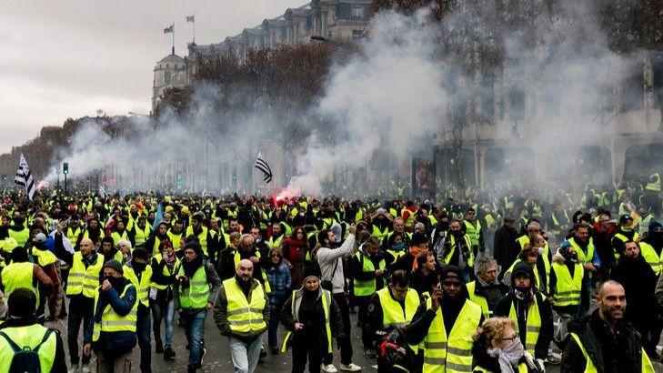 Los 'chalecos amarillos': de las protestas al crimen y los populistas de derecha