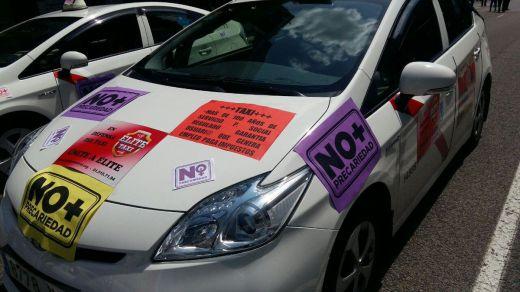 Los taxis de Madrid se van a la huelga: desde el lunes 21 no habrá servicios para protestar contra los VTC