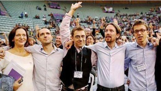 Pablo Iglesias 'celebra' solo el quinto aniversario de Podemos