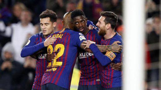El Barça sigue vivo en la Copa del Rey